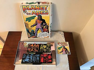 Vintage Planet Of The Apes Colorforms Adventure Set 1967