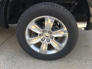 F150 platinum wheels tires