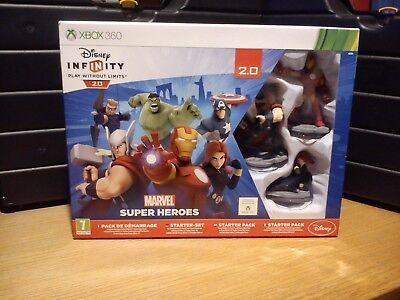 XBOX 360 Disney Infinity 2.0 Marvel Super Heroes Starter Pack (Neuf)