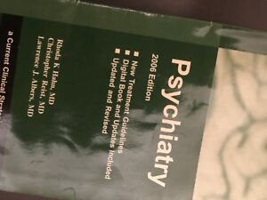 Book on psychiatry-BOOK SALE