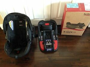 Britax B Safe 35 with bases and adapter