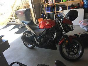Cbr250r 2011 few modifications