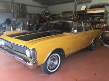 1971 Ford Fairmont XY Sedan Bentleigh Glen Eira Area Preview