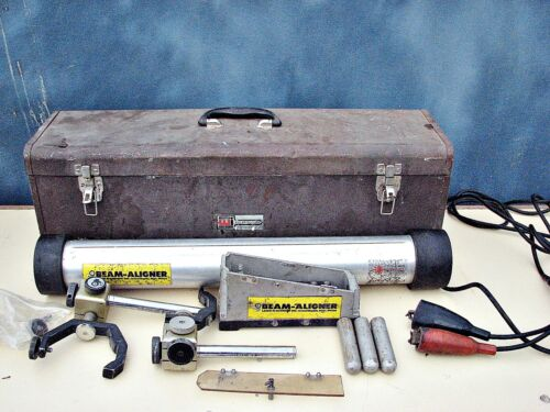 Vintage Laser Alignment Inc. Beam Aligner Metal Fabrication Made in the USA