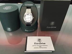 Citizen AW1240-57A Eco-Drive Titanium watch for sale $170 (New) Haymarket Inner Sydney Preview