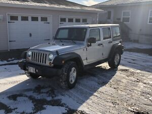 Jeep Wrangler unlimited sport ONLY 115 xxx kms driven 2 winters