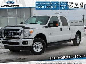 2015 Ford F-250 XLT 4X4**6 PLACES*CUIR*CAMERA*BLUETOOTH*A/C**