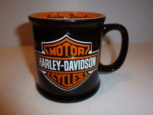 Harley-Davidson Motorcycles Oversized Mug, Black/Orange