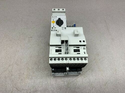 NEW TAKEOUT EATON MOTOR STARTER PKZM0-4 XTPR004BC1 WITH CONTACTORS SV 9340.260