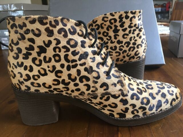 Django Amp Juliette Cheetah Print Boots Women S Shoes