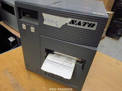 """SATO CL408E Parallel Thermo Label Drucker REWINDER 203dpi 4.1"""" 104mm - 23131.9 M"""