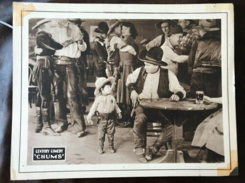 """Chums 1921 Century 11x14"""" comedy short Baby Peggy"""