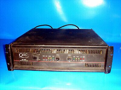 amplificador qsc segunda mano  Embacar hacia Mexico