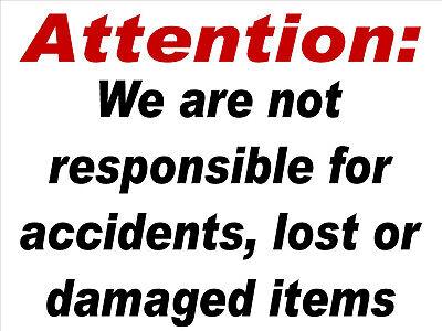 Laundromat Sign Laundromat Rules Not Responsiblealuminum18x24