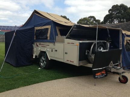 2013 Southern Land hard floor camper - Jabiru Elite