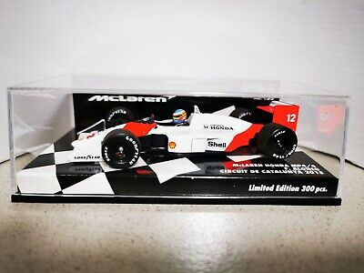 McLAREN HONDA MP4/4 FERNANDO ALONSO 2015 #12 MINICHAMPS 1/43