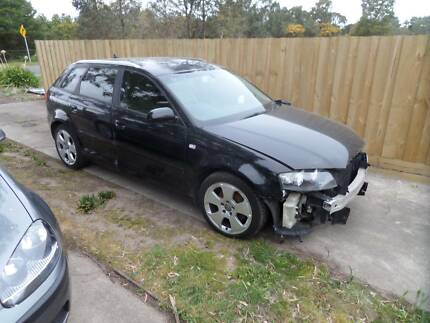 2008 Audi A3 Turbo 1.8 , Damaged , repairable write off Bakery Hill Ballarat City Preview