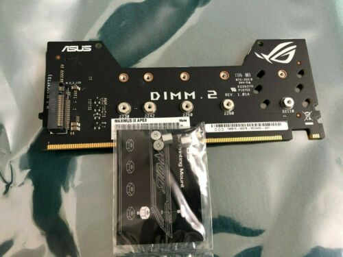 ASUS DIMM.2  FOR ROG MAXIMUS IX APEX & Others , Original