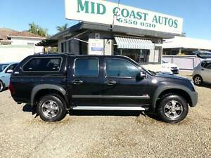 2008 HOLDEN RODEO/COLORADO CREW CAB TURBO DIESEL AUTOMATIC 4X4 Taree Greater Taree Area Preview
