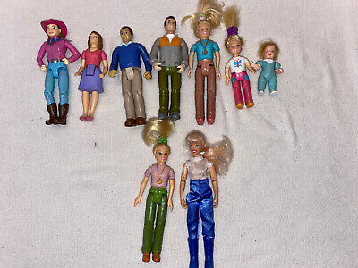 Fisher Price Loving Family lot of 9 figures