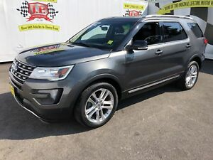 2016 Ford Explorer XLT, Automatic, 3rd Row Seating, Sunroof, 61,