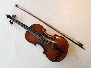 Antique German full size Violin, bow and case Mountain Creek Maroochydore Area Preview