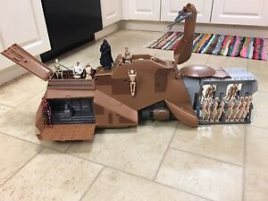 MINT CONDITION STAR WARS MTT MULTI TROOP TRANSPORT!