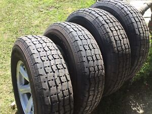 Selling a set of four (tires only). There'80% tread left