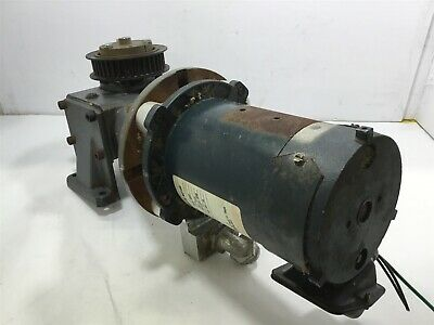 Magnetek 22210300 14 Hp Dc Gear Motor 90 V. Arm 1725 Rpm 56c Fr 51 Ratio