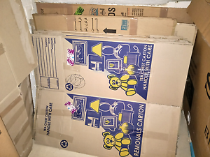 Packing moving boxes SOLD PENDING PICKUP Wollstonecraft North Sydney Area Preview