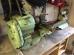 Atlas Metal Lathe Working Condition