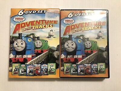 Thomas and Friends Adventure on the Tracks 6 DVD Set Thomas Tank Engine Train
