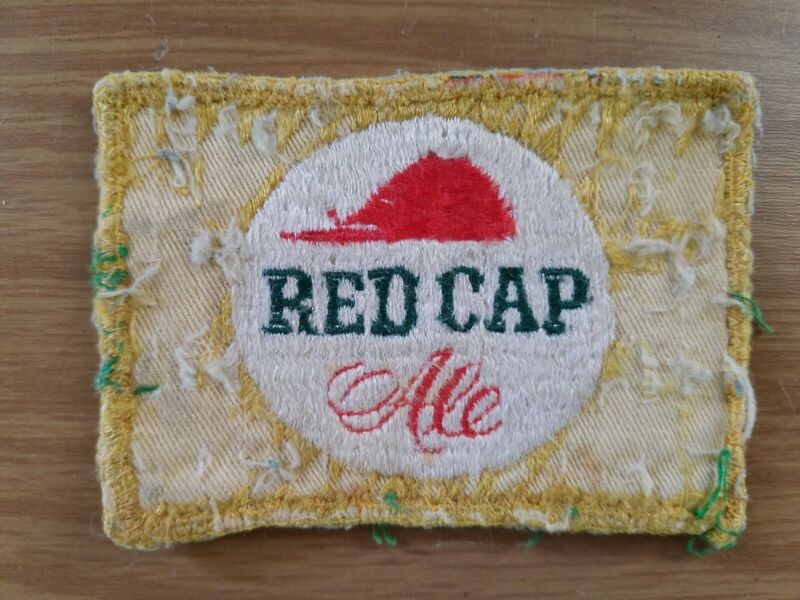 Vintage Red Cap Ale Patch
