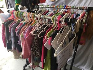 GARAGE SALE - TOYS - CHILDRENS CLOTHES 0 TO 4 YEARS OLD