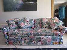 Double Sofa Bed + two cane chairs Gladesville Ryde Area Preview