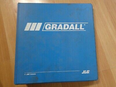 Gradall 544d Material Handler Factory Shop Service Manual In Binder Huge Oem