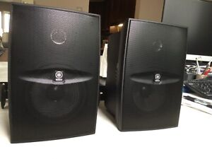 Yamaha Outdoor Speakers - As New Condition