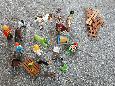 playmobil horse and people bundle please  see photos