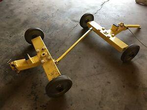Industrial wagon cart trailer
