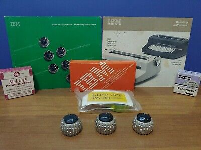 Ibm Selectric Accessories Fonts Ribbons - Manuels - Operating Instructions