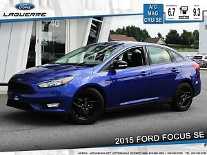 2015 Ford Focus SE *SPORT*CAM*A/C*BLUETOOTH*CRUISE**