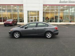 2012 Honda Civic LX 5-SPD; AIR; ALLOYS; P/W; C/C BLUETOOTH; X...