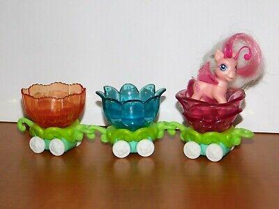 My Little Pony MLP BREEZIES PARADE Crystal Princess Tumbletop Flower Petal Train
