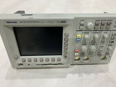 Tektronix Tds 3012b Front Panel Working Lcd And Controls