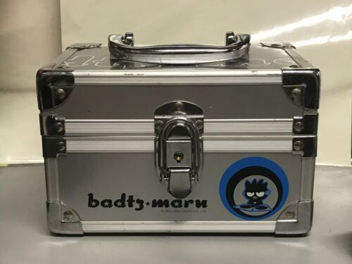 VINTAGE BADTZ MARU METAL BOX with Handle 1993/2000 SANRIO CO 5x7.5
