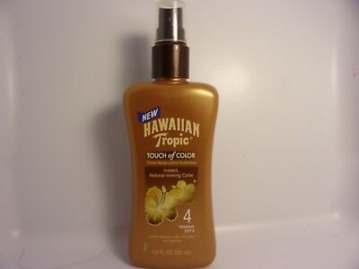 Hawaiian Tropic Touch of Color Tinted Spray Lotion Sunscreen SPF 4  (6.8 oz)