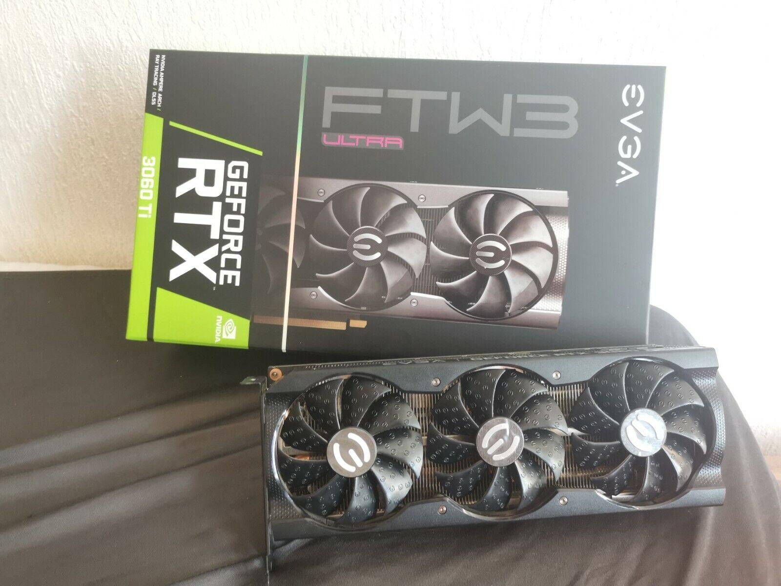 [NO LHR] EVGA GeForce RTX 3060 Ti FTW3 ULTRA GAMING 8GB GDDR6 Grafikkarte DEFEKT