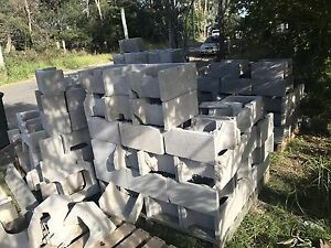 Concrete blocks various shapes Dural Hornsby Area Preview
