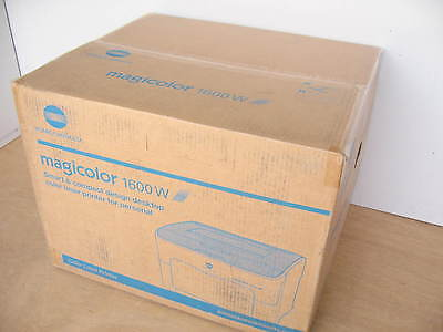 (Brand New Konica Minolta Magicolor 1600W Standard Color Laser Printer 20ppm NIB)