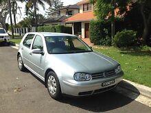 2001 Volkswagen Golf Silver Automatic $4400 ONO Cronulla Sutherland Area Preview